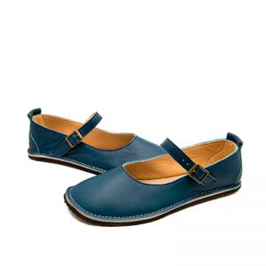 Zeazoo Ladies Mary Jane Navy Blue