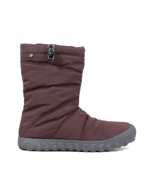 Bogs Adults Puffy Boots Grape