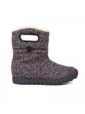 Bogs Adults B-Moc Mid Woven Boots Purple