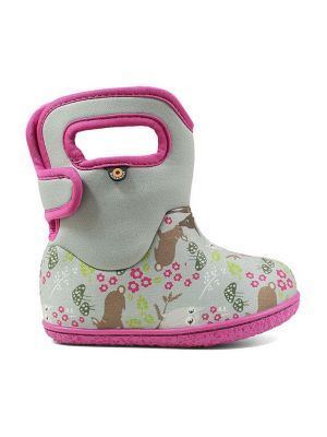 Baby Bogs Woodland Friends Light Grey Multi