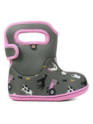 Baby Bogs Farm Grey Multi