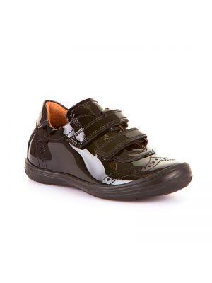 Froddo Kids Double Velcro Brogue Patent