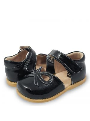 Livie and Luca Bow Black Patent