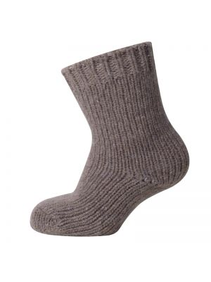 Melton Wool Socks Caramel