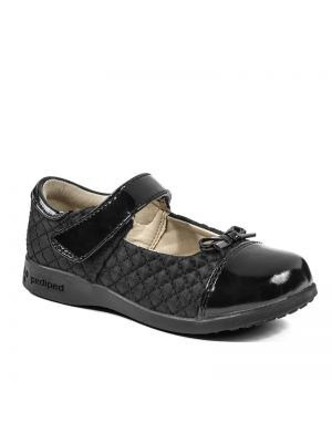 Pediped Naomi Black Patent