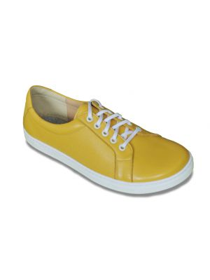 Peerko Adults Leather Yellow