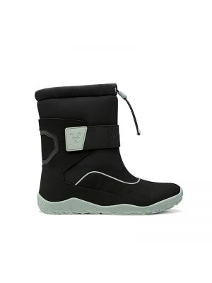 Vivobarefoot Kids Yeti Black Aqua Grey