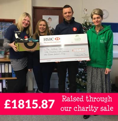 Charity Partnership Raises £1815.87 in 2019